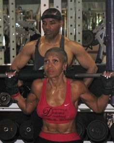 Ernestine Shepherd 74 years young!!