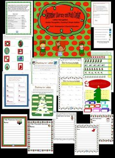 Happy Holidays. This is a Literacy & Math Center Bundle for Pre-K through K & Special Education classes. It includes ABC's, Writing Starters, Counting, Numbers & Simple          Addition.  Cute graphics with holiday themes.  Also              inside are directions for each activity & answer sheet . There are 25 pages. Class  worksheets are in primary print form. https://www.teacherspayteachers.com/Product/December-Literacy-Math-Center-Pre-K-K-Special-Education-1568498