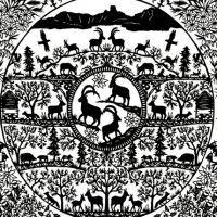 Touno Paper Cutting, Paper Art, Symbols, Peace, Ideas, Paintings, Landscapes, Papercutting, Papercraft