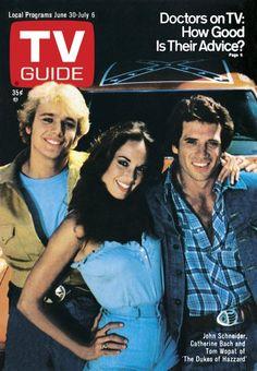 Dukes of Hazzard....tv guide cover June 30, 1979