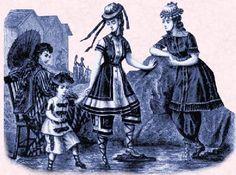 Victorian seaside costumes - 3 PHOTO!