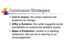 Printable Template to Help Students Write Conclusions   Students ...