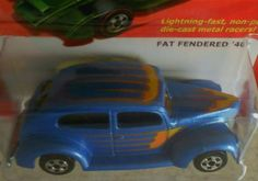 HOT WHEELS THE HOT ONES  FAT FENDERED '40  FREE SHIPPING!!