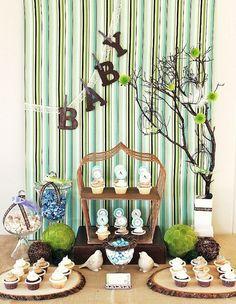 Bird themed baby shower! :D