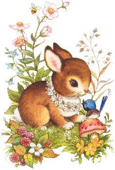 images of tubes lapins Bunny Art, Cute Bunny, Cute Drawings, Animal Drawings, Lapin Art, Art Mignon, Bunny Painting, Art Carte, Cute Animal Illustration
