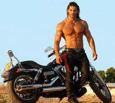 sexy bker men | Bike's and Hot Men…Yum!