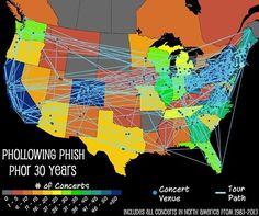 Cool! Phish tour! Been there loved that!