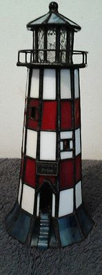 Vitreville Stained Glass Lighthouse Bill Job Collection | eBay