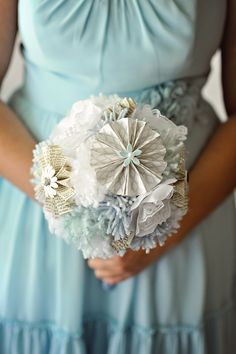 DIY'ed paper and yarn bouquet | Kismis Ink Photography
