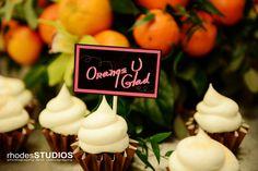 Drunken cupcakes by Party Flavors, Orange