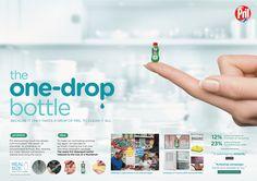Pril One-Drop Bottle | Henkel on Behance