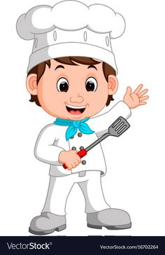 Cartoon funny chef vector image on VectorStock Cartoon Cartoon, Cartoon Chef, Teacher Cartoon, Kids Cartoon Characters, Respect Activities, Preschool Activities, School Coloring Pages, Disney Coloring Pages, Chef Images