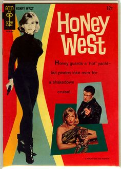 Honey West 1 silver age 1966 spy TV show Gold Key VG- Anne Francis photo cover Vintage Comic Books, Vintage Tv, Vintage Comics, Vintage Style, Classic Comics, Classic Tv, Mejores Series Tv, Anne Francis, Vintage Television