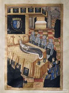 Les funérailles d'une reine : Anne de Bretagne (1514)