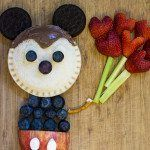 Mickey Mouse Uncrustables Food Art