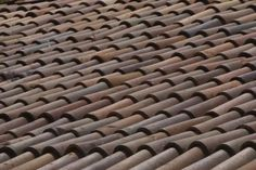 how to: realistic miniature clay roof tiles