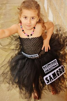 Sons of Anarchy inspired tutu dress