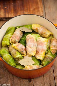 """Authentic Russian Cabbage Rolls """"Golubtsi"""" recipe"""