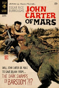 Pulp Sunday: John Carter of Mars