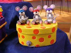 Three Blind Mice Trinket Box | FaveCrafts.com