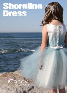 make tops w/out  ombre  colors to match tulle skirt (tutorial) Shoreline Dress Ombre Bodice