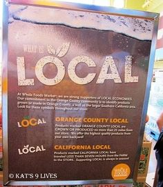 Whole Foods Local OC Campaign