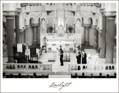 Sacred Heart Catholic Church, Wedding Ceremony, Bride and Groom Limelight Photography www.stepintothelimelight.com