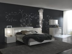 Nightfly White Bedroom by Rossetto