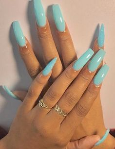Looking for easy nail art ideas for short nails? Look no further here are are quick and easy nail art ideas for short nails. Acrylic Nails Natural, Summer Acrylic Nails, Best Acrylic Nails, Acrylic Nail Designs, Long Square Acrylic Nails, Long Nail Designs, Perfect Nails, Gorgeous Nails, Pretty Nails