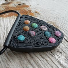 Dots in a Maze Pendant
