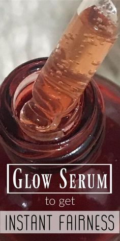 Today I am going to share how can you prepare glow serum easily at home. This serum has worked great for me To prepare this you will need Glycerin + Rose water + Vitamin C tablets + Wild turmeric Beauty Tips For Skin, Natural Beauty Tips, Beauty Hacks, Beauty Skin, Healthy Beauty, Beauty Ideas, Beauty Secrets, Beauty Makeup, Diy Skin Care