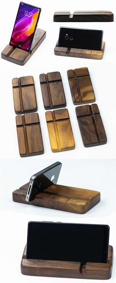 Desk Phone Holder - wood Mobile Phone iPhone iPad smartphone Tablet Holder stand pen pencil holder B wood Mobile Phone iPhone iPad smartphone Tablet Holder stand pen pencil holder Business Card Holder Display Stand Diy Phone Stand, Wood Phone Stand, Tablet Stand, Iphone Holder, Cell Phone Holder, Iphone S6 Plus, Handy Iphone, Iphone Phone, Tablet Phone