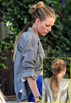 What Do You Think Of Blake Lively's On-Set Serena Van Der Woodsen 'Do?