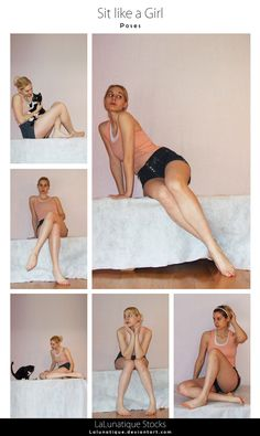 STOCK - Sit like a Girl by LaLunatique on DeviantArt - Gilian Nava Source You are in the right place