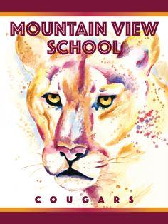 Cougar - Watercolor