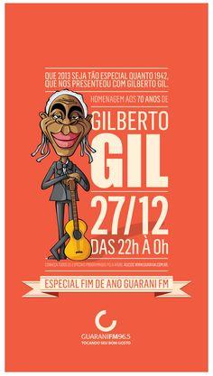 Divulgação do Especial Fim de Ano da Guarani FM em 2012.