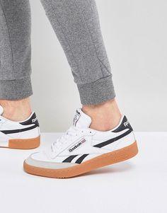 Reebok Revenge Plus Gum Sneakers In White CM8791 92b3247e9