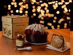 """#Panettone """"Oro di #Manna"""" gr 1000 #Fiasconaro - Dolce artigianale con crema alla manna da spalmare ricoperto di glassa bianca e colata di mannetti. #Natale 2015."""