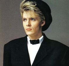 Nick Rhodes-I saw someone walking down Santa Monica Blvd. the other day with this look they stole from Nick!
