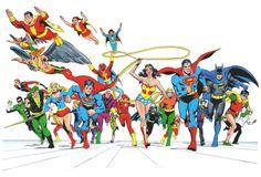 DC Super Heroes Poster Book
