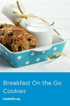 Beat the morning rush with this hearty breakfast cookie. Just grab and go! Entree Recipes, Home Recipes, Brunch Recipes, Baking Recipes, Cookie Recipes, Diabetes, Bite Size Food, Roll Cookies, Breakfast On The Go