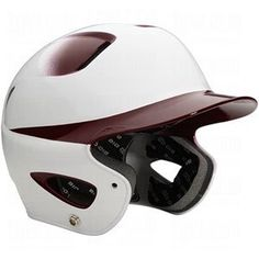 Easton Youth Natural Two-Tone Batting Helmets White/Maroon Fits 6 3/8-7 1/8 by Easton. $27.95. Easton Helmets... Protecting The Most Important Part Of Your Game! The best fitting helmet is the one you hardly know you're wearing. Easton gives you the slimmest profile, lightest weights and the best looking helmets in the game. Easton Youth Natural Two-Tone Batting Helmets Features: ABS high grade shell provides durability and exceptional protection Strategically placed aerodynam...