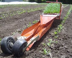 Check out http://smallfarmworks.com!  Small Farm Works is your resource for tools, including the Japanese paperpot system transplanter, that can increase the efficiency and productivity of your small farm.