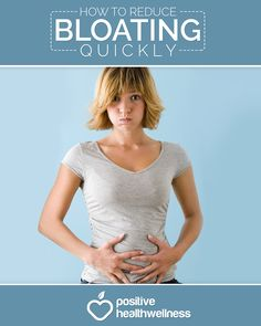 How To Reduce Bloating Quickly [Infographic] - Positive Health Wellness