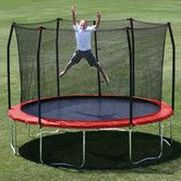 Stunning Skywalker foot Round Trampoline and Enclosure Combo Green Skywalker Holdings Toys R Us
