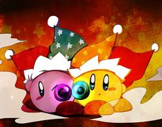 Tags: Anime, Pixiv Id 3648781, Kirby Series, Kirby, Aiming At Camera, No People, Jester Hat