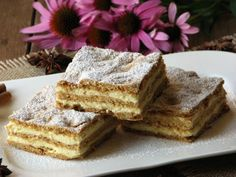 Chod: Zákusky a koláče - Page 3 of 255 - Mňamky-Recepty. Czech Recipes, Ethnic Recipes, Baking Recipes, Dessert Recipes, Yummy Cookies, Something Sweet, Graham Crackers, Carrot Cake, Sweet Recipes