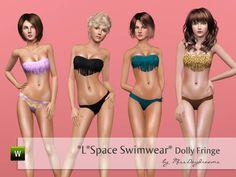 MissDaydreams' *L*Space Swimwear* Dolly Fringe