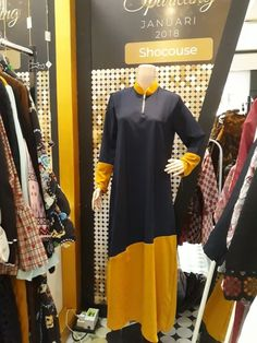 Gamis 066 Rp550 000.00 Material : Crepe, Size : Fit to L Qty : 6pcs Color : Navy / Yellow & Black / Navyhttps://shocouse-identity.ecwid.com/#!/Gamis-066/p/100576388