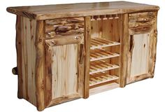 Deluxe Bar in Log Front (72″W)